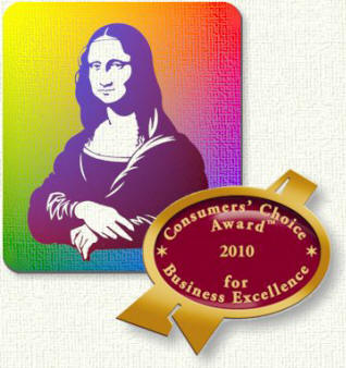 Mona Lisa Artists Materials ~ Consumer's Choice for Business Excellence 2010